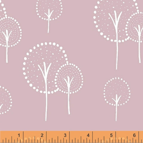 Kulla in Rosey Cheeks Pink - Glimma Canvas Collection - Lotta Jansdotter Fabric