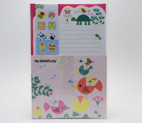 Ed Emberley Bird Letter Set