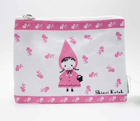 Little Red Riding Hood Shinzi Katoh Pouch - Large