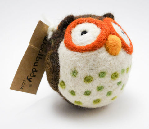 Medium Owl - Woolbuddy