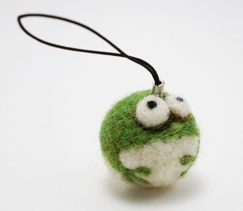 Mini Frog - Woolbuddy