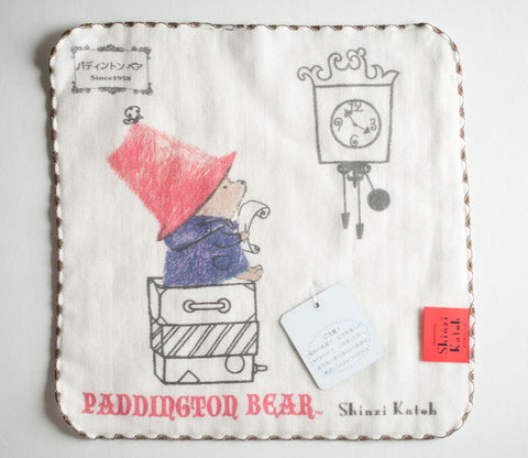 Paddington Bear - Clock - Small Towel - Shinzi Katoh