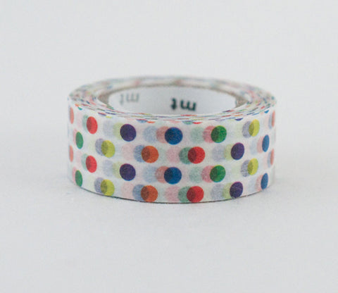 Rainbow Colorful Dots - Kids - Washi Tape