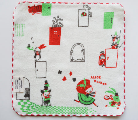 Alice in Wonderland - Fairy Tale - Small Towel - Shinzi Katoh - Zakka