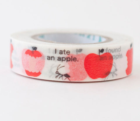Ant and Apple Shinzi Katoh Washi Tape