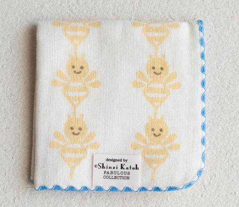 Bee Small Towel - Shinzi Katoh