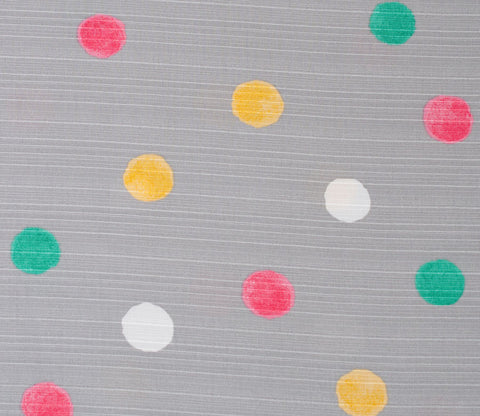 Watercolor Dots - Light Grey - Kobayashi