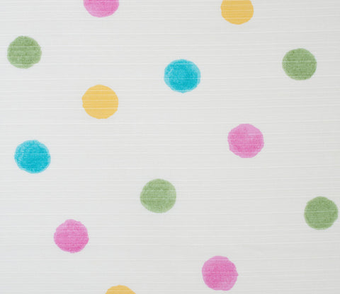 Watercolor Dots - White - Kobayashi