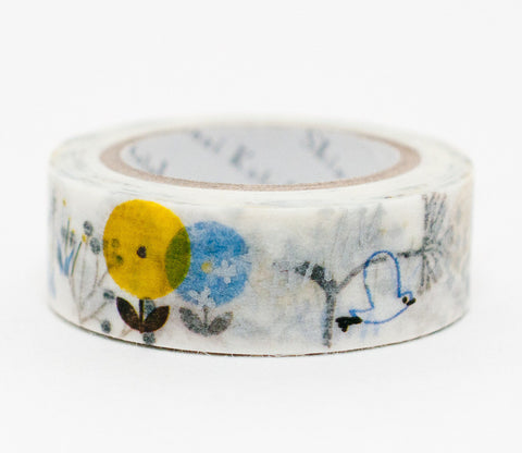 Wild Flower - Shinzi Katoh Washi Tape