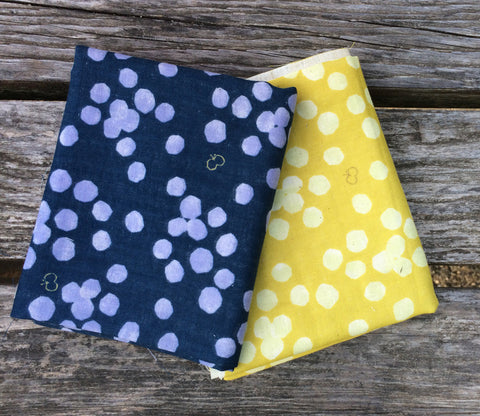 Butterfly Dots Double Gauze Fabric Bundle