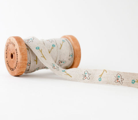 Butterfy - Shinzi Katoh Linen Tape 18mm