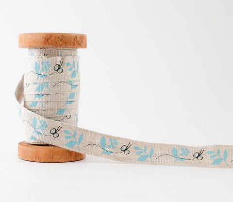 Butterfly Chou Chou - Shinzi Katoh Linen Tape 18mm