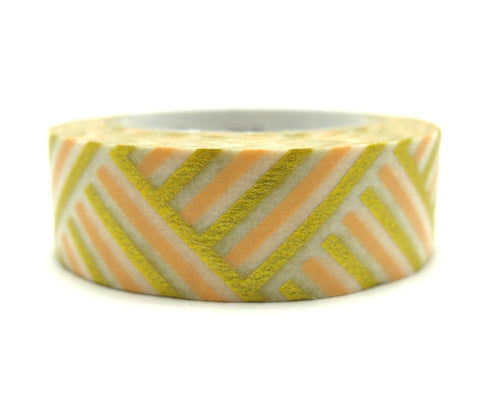Corner Peach Washi Tape