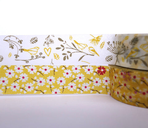 Sarah Flowers - Dailylike Washi Masking Tape