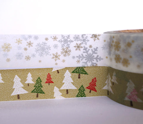 Winter Green - Dailylike Washi Masking Tape