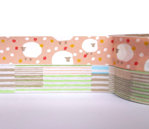 Comfy Sheep - Dailylike Washi Masking Tape