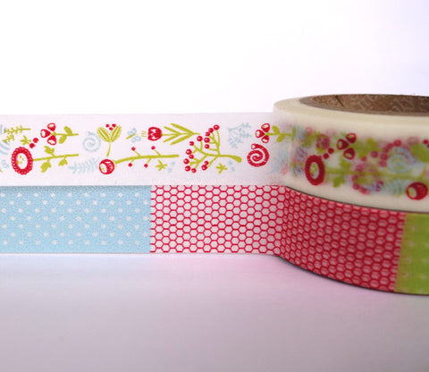 Fantasy Flowers -  Dailylike Washi Masking Tape