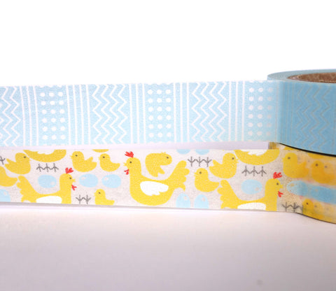 Farm Chickens - Dailylike Washi Masking Tape