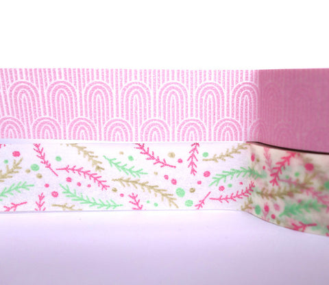 Wonder Pink Flowers - Dailylike Washi Masking Tape