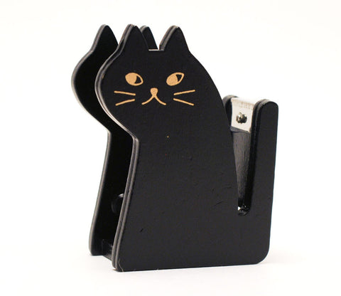 """Miranda"" Cat - Black - Tape Dispenser"