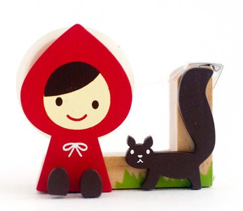 Little Red Riding Hood Squirrel - Otogicco - Tape Dispenser