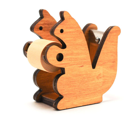 """Krims Krams"" Squirrel - Tape Dispenser"