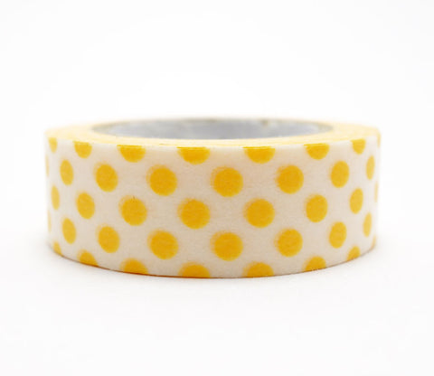 Dot Apricot Orange Washi Tape