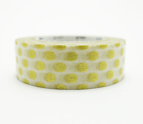 Dot Gold Washi Tape