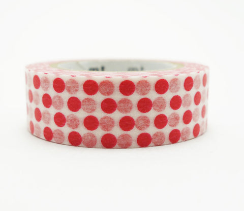 Dot Red Washi Tape