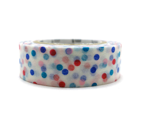 Drop Pink & Blue Washi Tape