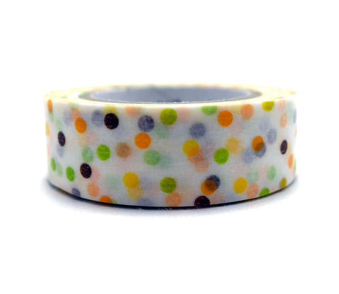 Drop Yellow & Green Washi Tape
