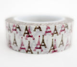 Paris Eiffel Tower Washi Tape