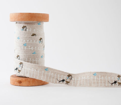 Fence - Shinzi Katoh Linen Tape 18mm