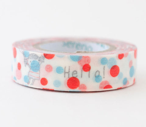 Flying Balloons Shinzi Katoh Washi Tape