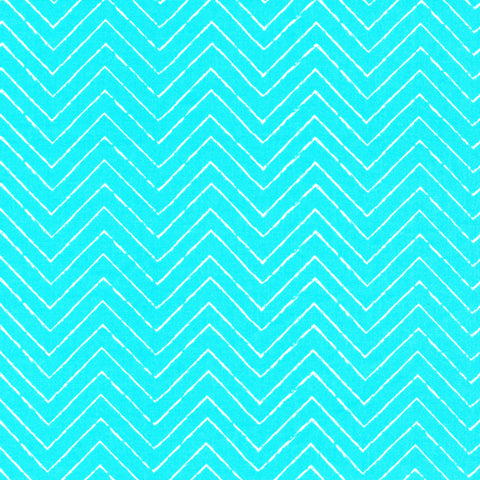 Gamma Ray - Turquoise - Cosmic Convoy - Cloud9 Organic Cotton Fabric