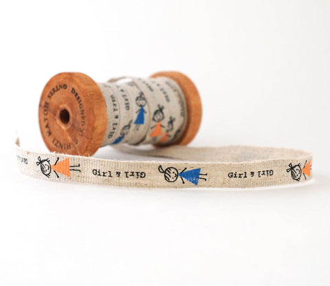 Girl & Girl - Shinzi Katoh Linen Tape 12mm