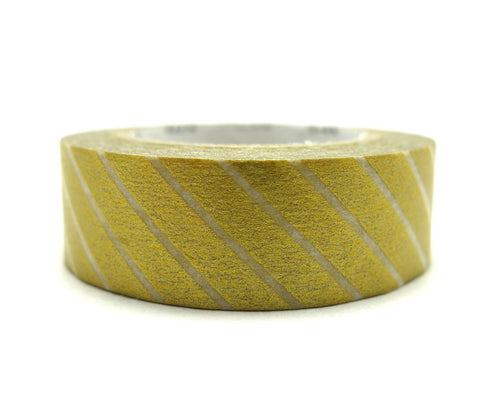 Wide Gold Stripe Washi Tape