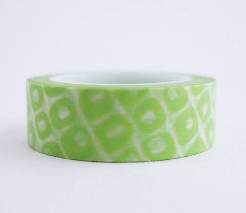 Green Pebble Washi Tape - Gemstone Washi Tape