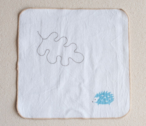 Hedgehog Small Towel - Shinzi Katoh