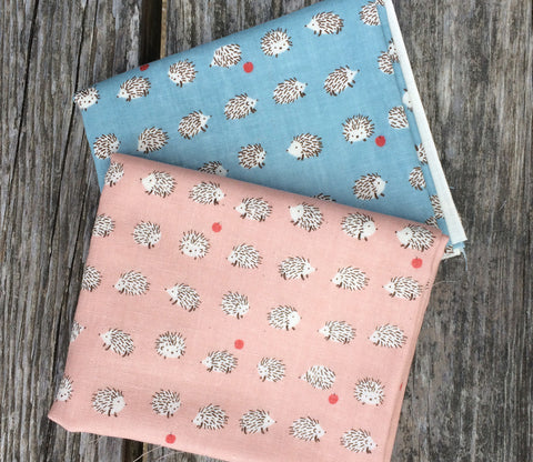 Hedgehogs Double Gauze Fabric Bundle