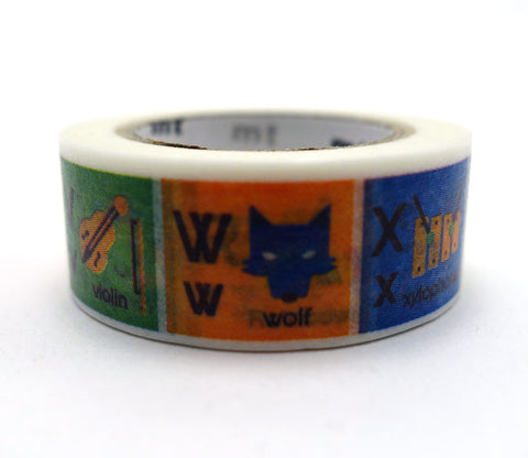 Alphabets - N-Z - Kids - Washi Tape
