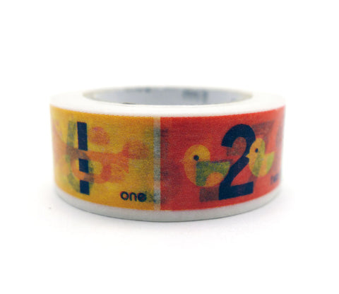 Numbers - Kids - Washi Tape