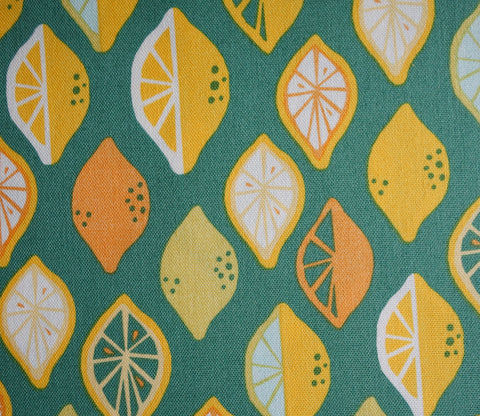 Lemon Lime - Juicy Canvas - Monaluna Organic Fabric