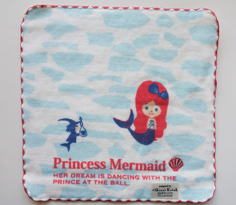 Little Mermaid - Small Towel - Shinzi Katoh - Nostalgic Memory - Zakka