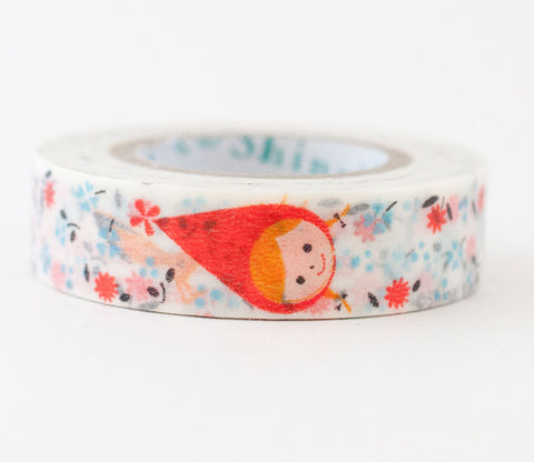 Little Red Riding Hood Flower Shinzi Katoh Washi Tape