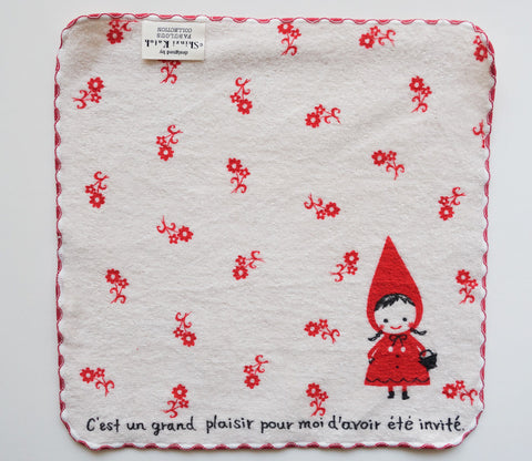 Little Red Riding Hood - Fairy Tale - Small Towel - Shinzi Katoh - Zakka
