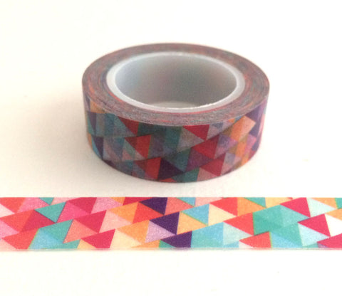 Modern Triangle Stripes Washi Tape