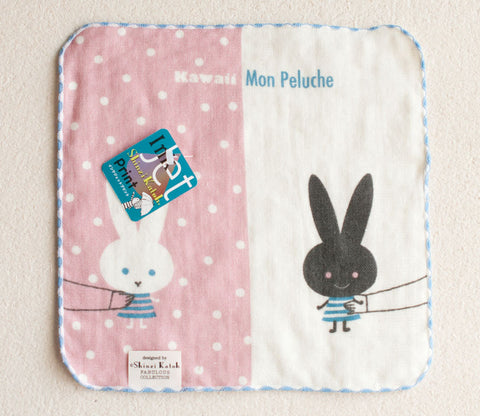 Mon Peluche Bunnies Small Towel - Shinzi Katoh