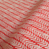 Herringbone Lawn - Simple Life - Monaluna Organic Cotton Fabric