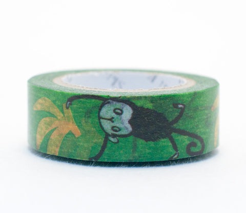 Monkeys and Bananas - Shinzi Katoh Washi Tape